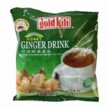 Gold Kili Instant Chinese Ginger Tea Drink 20x18g Sachets